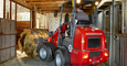 Weidemann Hoftrac 1160 application with fork and grab 1