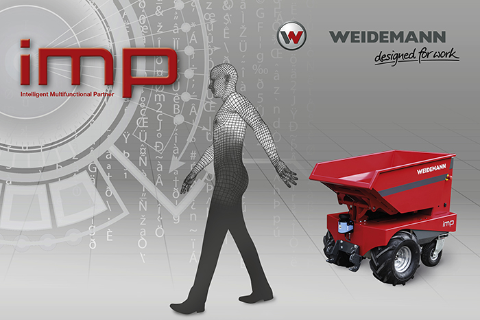 Weidemann imp – Intelligent Multifunctional Partner