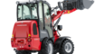 Weidemann Hoftrac 1280 with cabin studio view 3