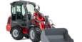 Weidemann Hoftrac 1280 with cabin studio view 1
