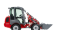 Weidemann Hoftrac 1280 with cabin studio view 4