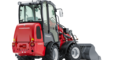 Weidemann Hoftrac 1280 with cabin studio view 2