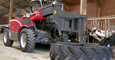 Weidemann telehandler T4512 application with rotary slide